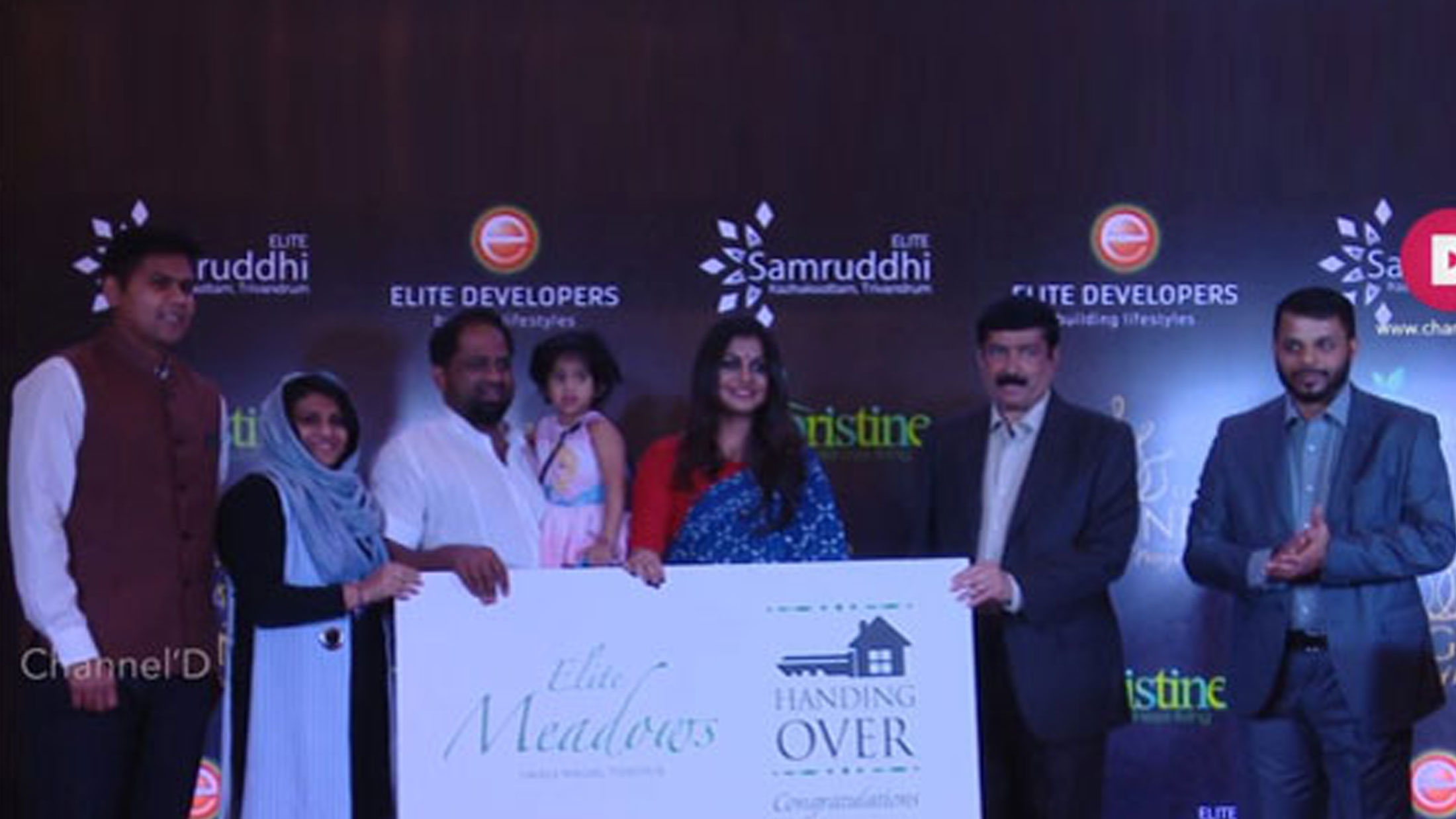 Key Handing Over Ceremony of Elite Meadows at Grand Excelsior Hotel, Dubai