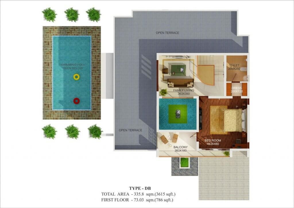 3 bhk luxury villas in thrissur